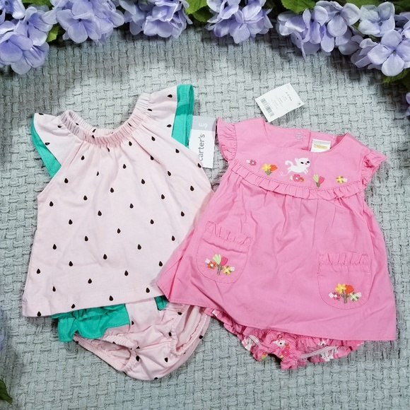 Gymboree Other - Baby girl NWT pink Summer outfit bundle